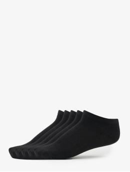 No Show 5 Pack Socks Black