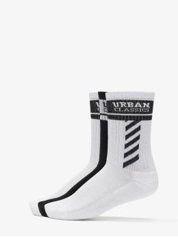 Urban Classics Socken Sporty Logo Socks 3-Pack  weiß