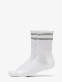 Urban Classics Sokker 2-Pack Stripe Sport hvit