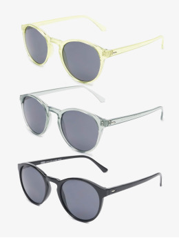 Urban Classics Sonnenbrille Sunglasses Cypress 3-Pack bunt