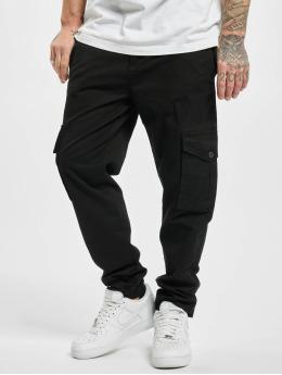 Urban Classics Spodnie Chino/Cargo Tapered  czarny