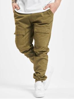 Urban Classics Spodnie Chino/Cargo Front Pocket  oliwkowy