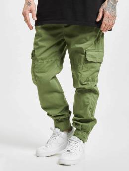 Urban Classics Spodnie Chino/Cargo Military oliwkowy