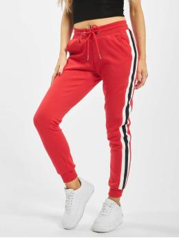 Urban Classics Spodnie do joggingu College Contrast czerwony