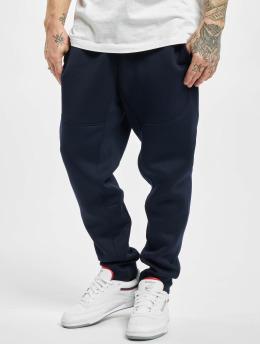 Urban Classics Spodnie do joggingu Cut And Sew niebieski
