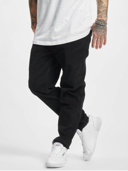 Urban Classics Spodnie wizytowe Corduroy 5 Pocket czarny