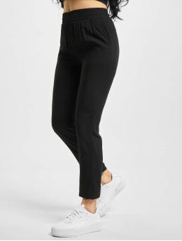 Urban Classics Spodnie wizytowe Ladies Beach czarny