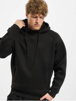Urban Classics Sudadera Raglan Zip Pocket negro