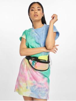 Urban Classics Sukienki Tie Dye turkusowy