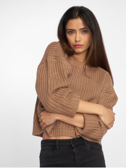 Urban Classics Sweat & Pull Wide Oversize brun