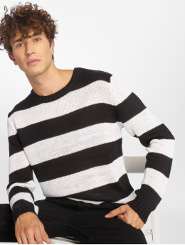 Urban Classics Sweat & Pull Striped noir