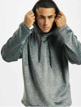 Urban Classics Sweat capuche Plushy gris