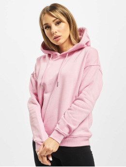 Urban Classics Sweat capuche Ladies magenta