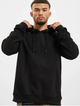 Urban Classics Sweat capuche Basic Terry noir
