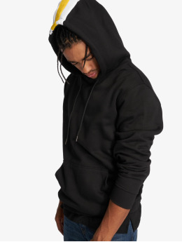 Urban Classics Sweat capuche Back Stripe noir