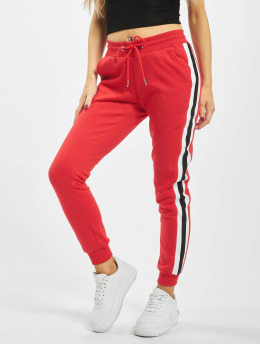 Urban Classics Sweat Pant College Contrast red