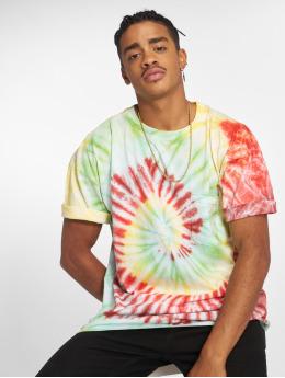 Urban Classics T-paidat Spiral Tie Dye Pocket kirjava