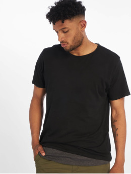 Urban Classics T-paidat Full Double Layered musta