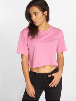 Urban Classics T-paidat Short Oversized vaaleanpunainen
