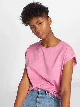 Urban Classics T-paidat Extended vaaleanpunainen