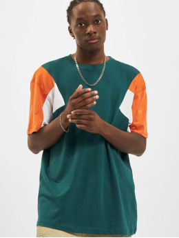 Urban Classics T-paidat 3-Tone vihreä