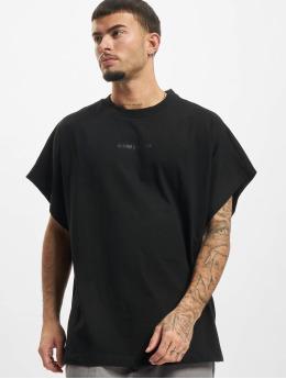 Urban Classics T-Shirt Chinese Symbol Cut On Sleeve black