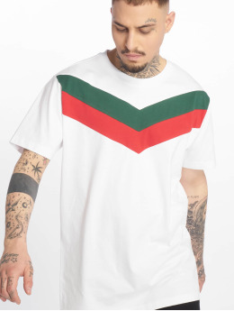 Urban Classics T-Shirt Arrow Panel blanc