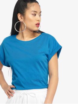 Urban Classics T-Shirt Classics Extended blau