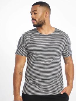 Urban Classics T-Shirt Yarn Dyed Baby Stripe bleu