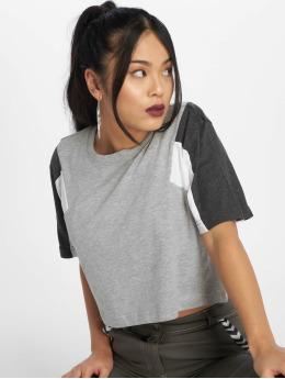 Urban Classics t-shirt 3-Tone grijs