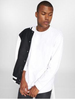 Urban Classics T-Shirt manches longues Boxy Heavy blanc
