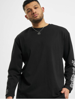 Urban Classics T-Shirt manches longues Chinese Symbol Oversized noir