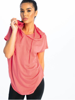 Urban Classics / t-shirt Jersey Hooded in rose
