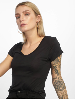 Urban Classics T-Shirt Ladies Basic Viscose schwarz