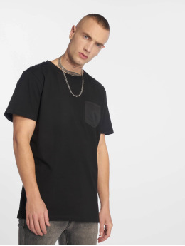 Urban Classics T-Shirt Modal Mix Pocket schwarz