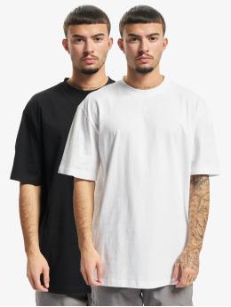 Urban Classics T-Shirt Organic Tall 2-Pack schwarz