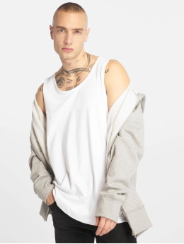 Urban Classics T-shirt Mesh Panel vit