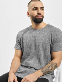 Urban Classics T-Shirt Melange Rib weiß
