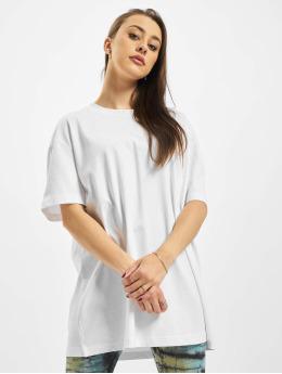 Urban Classics T-Shirt Ladies Oversized Boyfriend weiß