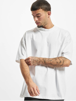 Urban Classics T-Shirt Oversized Mock Neck white