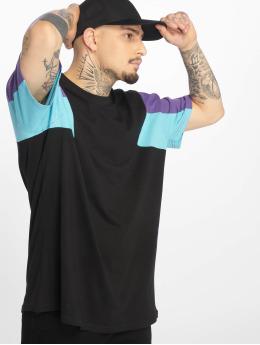 Urban Classics t-shirt 3-Tone zwart