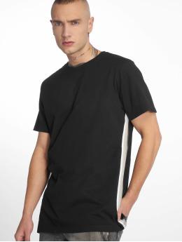 Urban Classics t-shirt Side Taped zwart