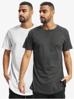 Urban Classics T-shirts Pre-Pack Shaped Long 2-Pack hvid