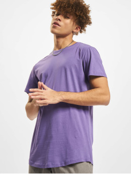 Urban Classics T-shirts Shaped Long lilla