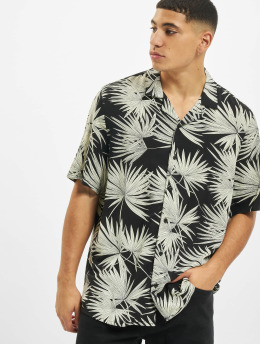 Urban Classics T-Shirty Frond Resort czarny
