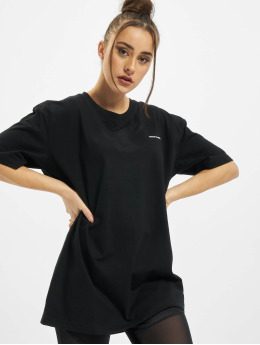 Urban Classics T-Shirty Oversized Boyfriend Uc Hiking czarny