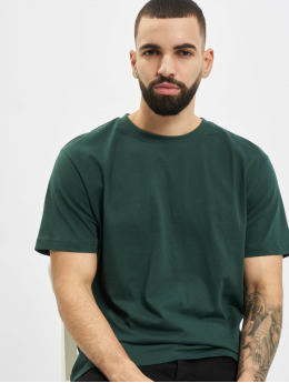 Urban Classics T-Shirty Basic  zielony