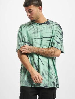 Urban Classics T-skjorter Boxy Tye Dye svart