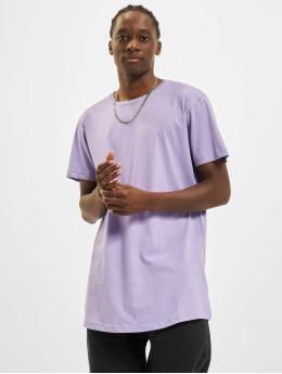 Urban Classics Tall Tees Shaped Long púrpura