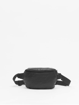 Urban Classics tas Leather Imitation zwart